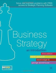 Business Strategy (An Introduction) by David Campbell, David Edgar, George Stonehouse, 9780230218581