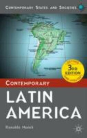 Contemporary Latin America - 9780230354197 by Ronaldo Munck, 9780230354197