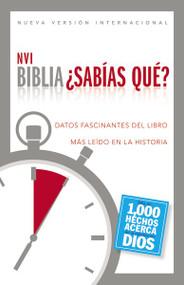 Biblia NVI - ¿Sabías qué? (Datos fascinantes del libro más leído en la historia) - 9780829766837 by  Zondervan, 9780829766837