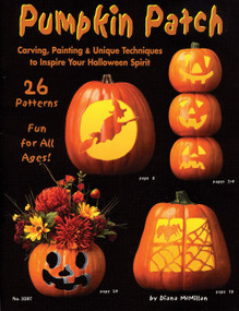 Pumpkin Patch (Carving, Painting & Unique Techniques to Inspire Your Halloween Spirit) by Suzanne McNeill, 9781574212747
