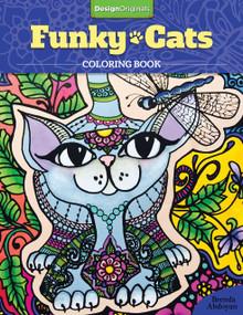 Funky Cats Coloring Book by Brenda Abdoyan, 9781497201538