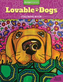 Lovable Dogs Coloring Book by Brenda Abdoyan, 9781497201675