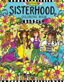 Sisterhood Coloring Book by Suzy Toronto, 9781497201545