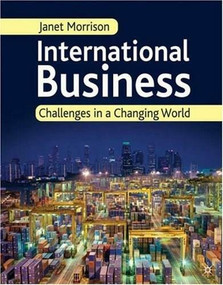 International Business (Challenges in a Changing World) by Janet Morrison, 9781403945631