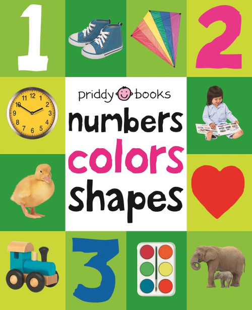 First 100 Padded: Numbers Colors Shapes by Roger Priddy, 9780312510817