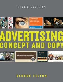Advertising (Concept and Copy) by George Felton, 9780393733860