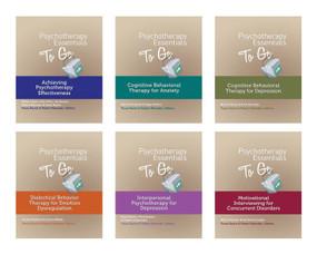 Psychotherapy Essentials To Go (6 Book Set) by Paula Ravitz, Robert Maunder, 9780393710786