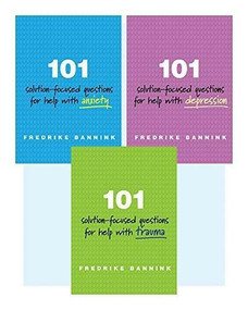 101 Solution-Focused Questions Series Set by Fredrike Bannink, 9780393711257
