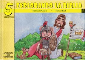 5 Minutos explorando La Biblia # 6 (15 Biblia basado devocionales para chiquitos) by Katiuscia Giusti, 9781632640710
