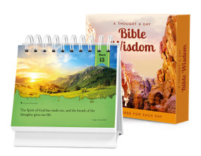 A Thought a Day—Bible Wisdom (A Daily Desktop Quotebook) by Brooke Wexler, 9781632640024