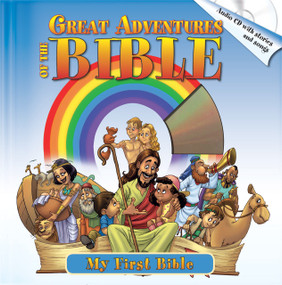 Great Adventures of the Bible (Best Bible Stories, Including Audio CD with Stories & Songs) by Yoko Matsuoka, 9781632640406
