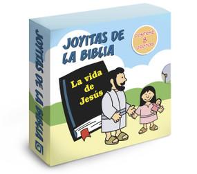 Joyitas de la Biblia (La vida de Jesús: un conjunto de 8 folleto) (Miniature Edition) by Didier Martin, 9781632640390