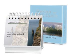Perlas de Sabiduría Vol. 1 (Un diario Quotebook en práctico formato de escritorio) by Jessie Richards, 9781632640215