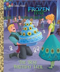 The Best Birthday Ever (Disney Frozen) by Rico Green, RH Disney, 9780736436199