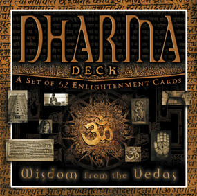Dharma Deck (Wisdom of the Vedas) (Miniature Edition) by Shawn Laksmi, 9781601090317