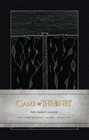 Game of Thrones: The Night's Watch Hardcover Ruled Journal by . HBO, 9781608877195