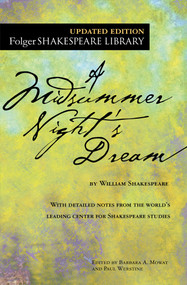 A Midsummer Night's Dream - 9781501146213 by William Shakespeare, Dr. Barbara A. Mowat, Paul Werstine, 9781501146213