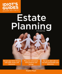 Estate Planning, 5E by Stephen Maple, 9781615648979