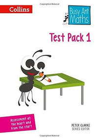 Busy Ant Maths – Test Pack 1 by Peter Clarke, 9780008167363