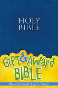 NIrV, Gift and Award Bible, Paperback, Blue by  Zondervan, 9780310743750