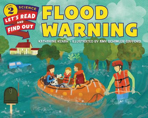 Flood Warning - 9780062386618 by Katharine Kenah, Amy Schimler-Safford, 9780062386618