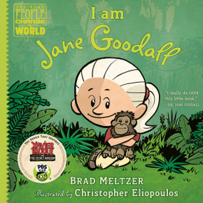 I am Jane Goodall by Brad Meltzer, Christopher Eliopoulos, 9780525428497