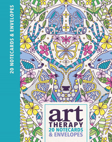 Art Therapy 20 Notecards & Envelopes by Lizzie Preston, Chellie Carroll, 9781782435297