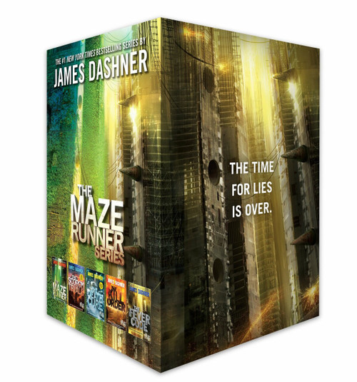 The Maze Runner Series Complete Collection Boxed Set (5-Book) - 9781524714345 by James Dashner, 9781524714345