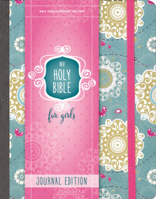 NIV Holy Bible for Girls, Journal Edition, Hardcover, Turquoise, Elastic Closure by  Zondervan, 9780310758969