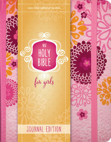 NIV Holy Bible for Girls, Journal Edition, Hardcover, Pink, Elastic Closure by  Zondervan, 9780310759065