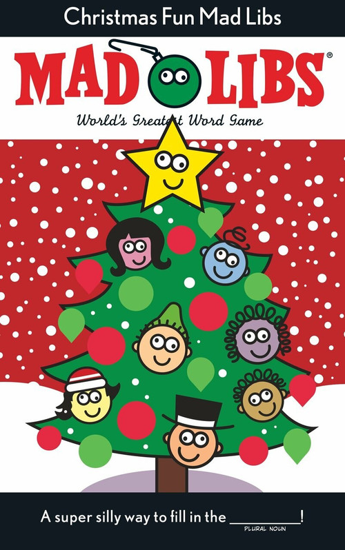 Christmas Fun Mad Libs (Deluxe Stocking Stuffer Edition) by Roger Price, Leonard Stern, 9780515157093