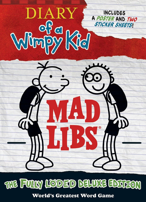 Diary of a Wimpy Kid Mad Libs (The Fully Löded Deluxe Edition) by Mad Libs, 9780515158304