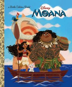 Moana Little Golden Book (Disney Moana) by Laura Hitchcock, Griselda Sastrawinata-Lemay, 9780736436038