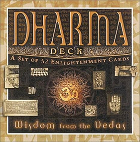 Dharma Deck (Wisdom From the Vedas) (Miniature Edition) by Mandala Publishing, 9781886069510