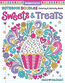 Notebook Doodles Sweets & Treats (Coloring & Activity Book) by Jess Volinski, 9781497202498