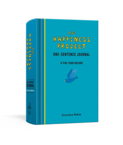 The Happiness Project One-Sentence Journal (A Five-Year Record) (Miniature Edition) by Gretchen Rubin, 9780307888570