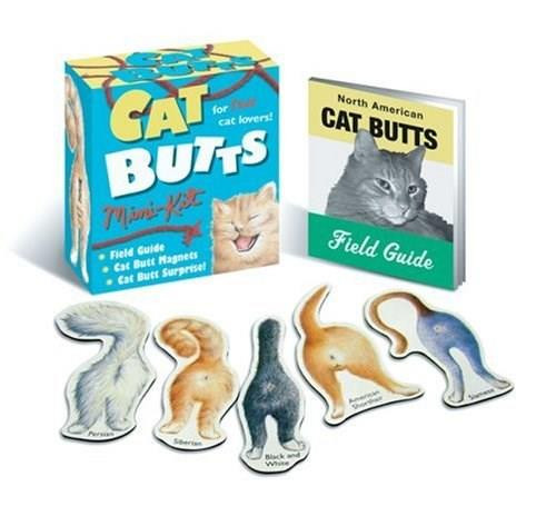 Cat Butts (Miniature Edition) by Blue Q, 9780762422173