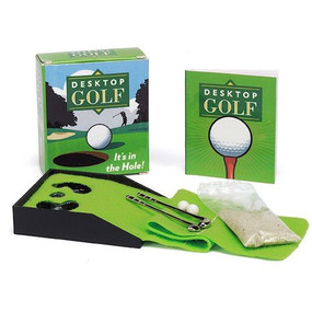 Desktop Golf (Miniature Edition) by Chris Stone, 9780762438150