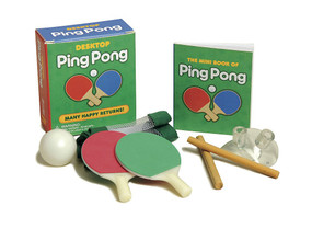 Desktop Ping Pong (Miniature Edition) by Chris Stone, 9780762439539