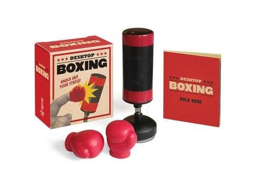Desktop Boxing (Knock Out Your Stress!) (Miniature Edition) by Running Press, 9780762460809