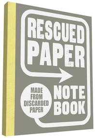 Rescued Paper Notebook, large by Sukie, 9781452145815