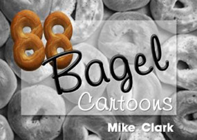 88 Bagel Cartoons by Mike Clarke, 9781931741125