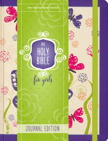 NIV Holy Bible for Girls, Journal Edition, Hardcover, Purple, Elastic Closure by  Zondervan, 9780310759652