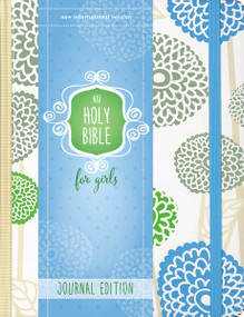 NIV Holy Bible for Girls, Journal Edition, Hardcover, Mint, Elastic Closure by  Zondervan, 9780310759805