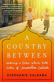 A Country Between (Making a Home Where Both Sides of Jerusalem Collide) by Stephanie Saldaña, 9781492639053