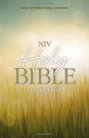 NIV, Holy Bible, Larger Print, Paperback - 9780310446149 by Zondervan, 9780310446149