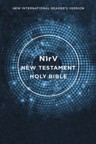 NIrV, Outreach New Testament, Paperback, Blue by  Zondervan, 9780310446132