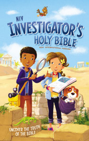 NIV Investigator's Holy Bible, Hardcover (Uncover the Truth of the Bible) by  Zondervan, 9780310758761