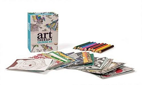 Art Therapy Coloring Kit (Miniature Edition) by Sam Loman, 9780762460564
