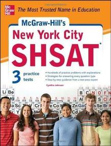 McGraw-Hill's New York City SHSAT by Cynthia Johnson, 9780071772815
